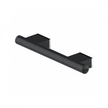 AKW Onyx Straight Grab Rail 300mm Length - Black