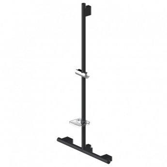 AKW Onyx T-Shaped Grab Rail 1200mm x 300mm x 300mm - Black