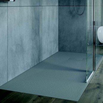 AKW Onyx Square Shower Tray 900mm x 900mm - Grey