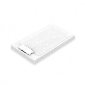 AKW Sulby Rectangular Shower Tray with Waste 1200mm x 760mm, Non-Handed