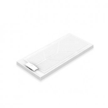 AKW Sulby Rectangular Shower Tray with Waste 1800mm x 820mm, Non-Handed