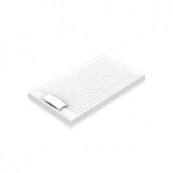 AKW Sulby Rectangular Shower Tray with Waste 1420mm x 820mm, Non-Handed