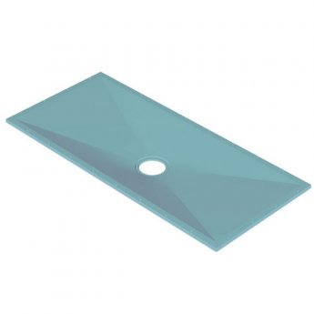 AKW Tuff Form Rectangular Wet Room Former 1800mm x 820mm with GW90 Low Depth Gravity Waste and Adaptor