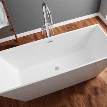 April Airton Modern Freestanding Bath 1650mm x 650mm - Acrylic