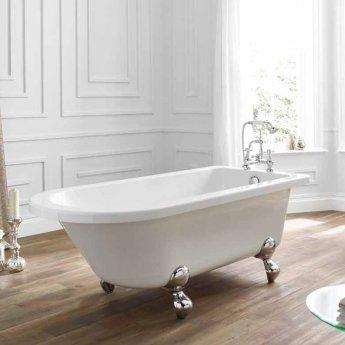 April Bentham Traditional Freestanding Bath 1700mm x 750mm - Acrylic