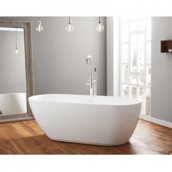 April Harrogate Contemporary Freestanding Bath 1700mm x 750mm Acrylic