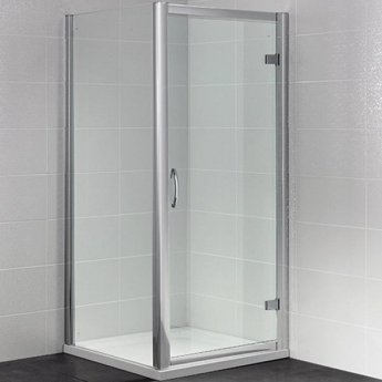 April Identiti2 Hinged Shower Door 760mm Wide - 8mm Glass