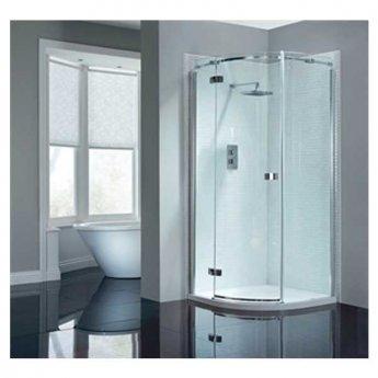 April Prestige2 Single Quadrant Shower Enclosure 800mm x 800mm Left Handed - 8mm Glass