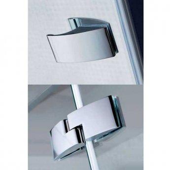 April Prestige2 Offset Quadrant Shower Enclosure 1000mm x 800mm Right Handed - 8mm Glass