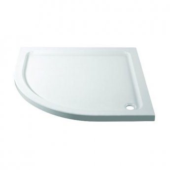 April Quadrant Shower Tray 900mm x 900mm - Stone Resin