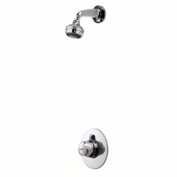 Aqualisa Aquavalve 700 Dual Concealed Mixer Shower with Fixed Head