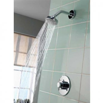 Aqualisa Aspire Dual Concealed Mixer Shower with Fixed Head