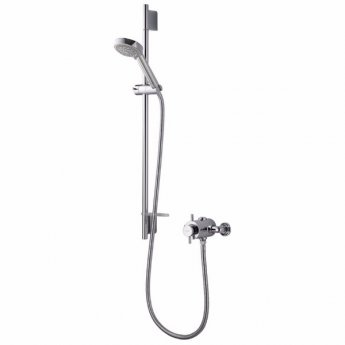 Aqualisa Aspire Dual Exposed Mixer Shower with Shower Kit