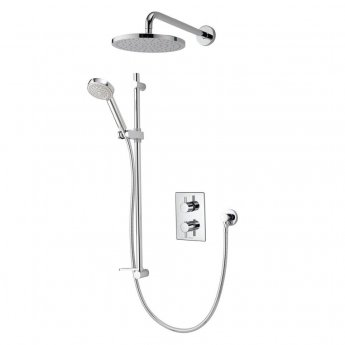Aqualisa Dream DCV Dual Concealed Mixer Shower with Shower Kit + Fixed Head