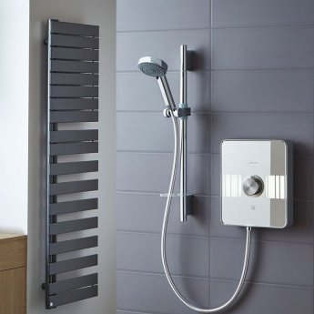 Aqualisa Lumi 8.5kW Electric Shower with Adjustable Head and Kit - Chrome