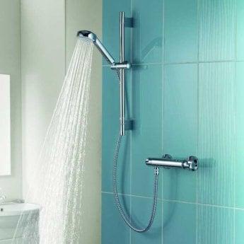 Aqualisa Midas 100 Bar Mixer Shower with Shower Kit