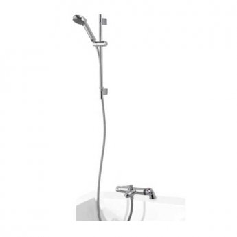 Aqualisa Midas 100 Thermo Exposed Bath / Shower Mixer Tap with Adjustable Kit