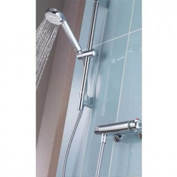 Aqualisa Midas 100 Easy-Fit Bar Mixer Shower with Shower Kit