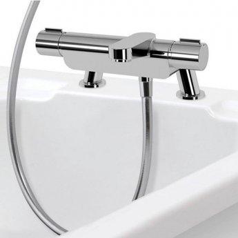 Aqualisa Midas 220 Bath Shower Mixer with Shower Kit + Tap Spout