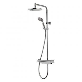 Aqualisa Midas 220 Bar Mixer Shower with Shower Kit + Fixed Head