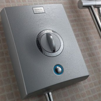 Aqualisa Quartz 10.5kW Electric Shower with Adjustable Height Head Chrome