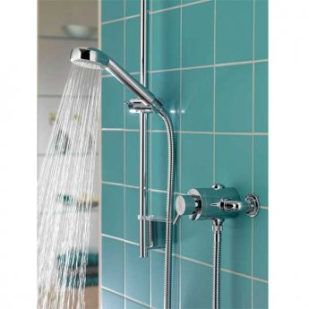 Aqualisa Siren Sequential Exposed Mixer Shower with Shower Kit