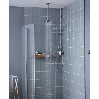 Aqualisa Visage Digital HP Exposed Mixer Shower with Shower Kit