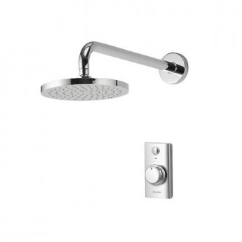 Aqualisa Visage Digital LP Concealed Mixer Shower with Fixed Head