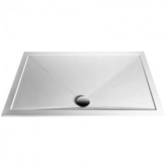 Aqualux AQ25 Sphere Anti Slip Square Shower Tray 900mm x 900mm - Stone Resin