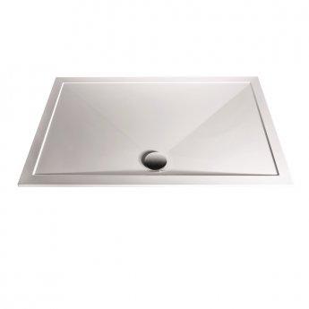 Aqualux AQUA25 Sphere Square Shower Tray, 800mm x 800mm, Stone Resin
