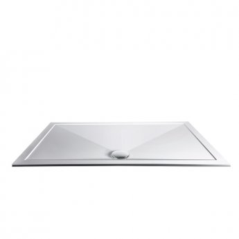 Aqualux AQUA25 Sphere Rectangular Shower Tray, 1700mm x 760mm, Stone Resin