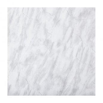 Aquashine M1 Series PVC Single Shower Wall Panel 1000mm Wide - Grey Marble