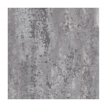 Aquashine M1 Series PVC Single Shower Wall Panel 1000mm Wide - Silver Retro Metallic