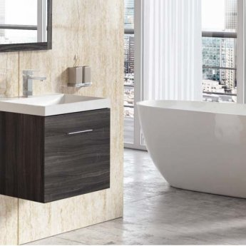 Aquashine M1 Series PVC Single Shower Wall Panel 1000mm Wide - Travertine Beige