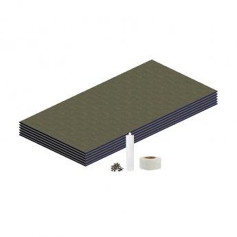 Aquashine Tile Backer Board Wall Kit 4.32m2 - 12mm
