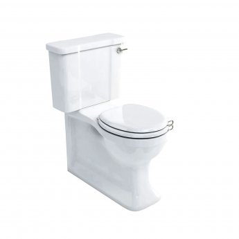 Arcade Traditional Back to Wall Close Coupled WC Pan with Dual Flush Cistern