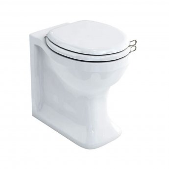 Arcade Traditional Back to Wall Toilet WC Pan 365mm Wide Excluding Seat