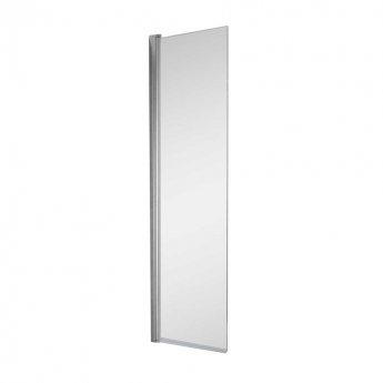 Arley Ralus6 Single Square Bath Screen 1500mm High x 325mm Wide - 6mm Glass