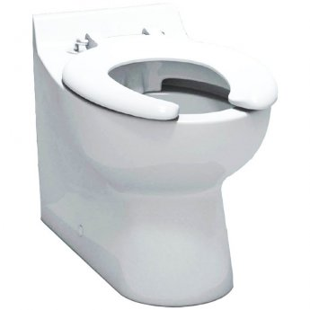 Arley School Infant Back To Wall Toilet 300mm Wide - Open Ring Seat