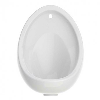 Arley Warwick Urinal Bowl with Brackets and Waste 380mm Wide - White