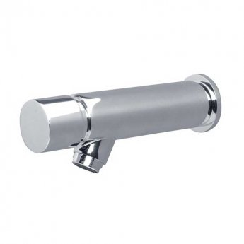Armitage Shanks Avon Push Button Self Closing Wall Mounted Bib Tap - Chrome