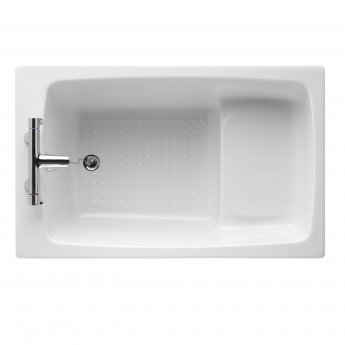 Armitage Shanks Single Ended Rectangular Bath 1200mm x 750mm - 2 Tap Holes