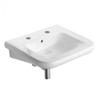 Armitage Shanks Contour 21 Accessible Basin 600mm Wide - 2 Tap Hole