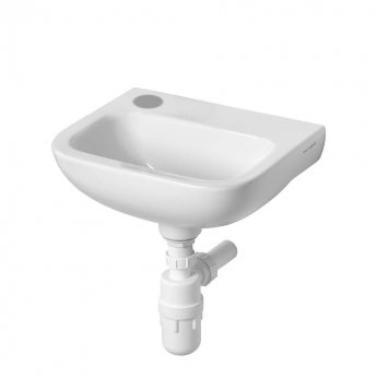 Armitage Shanks Contour 21 Handrinse Basin 370mm Wide - 1 LH Tap Hole