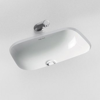 Armitage Shanks Contour 21 Under Countertop Basin with Overflow 555mm Wide - 0 Tap Hole