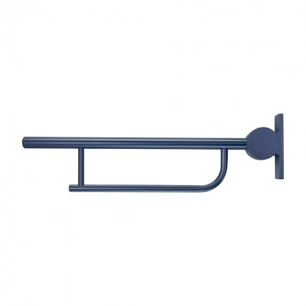 Armitage Shanks Contour 21 Doc M Pack with Close Coupled Toilet and Blue Rail - Left Handed
