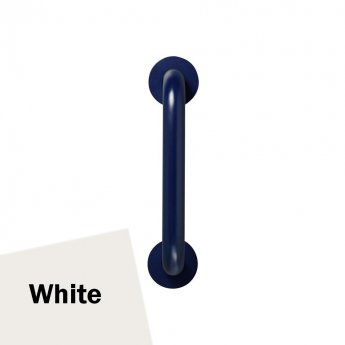 Armitage Shanks Contour 21 Straight Grab Rail 300mm Length - White