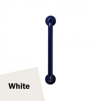 Armitage Shanks Contour 21 Straight Grab Rail 450mm Length - White