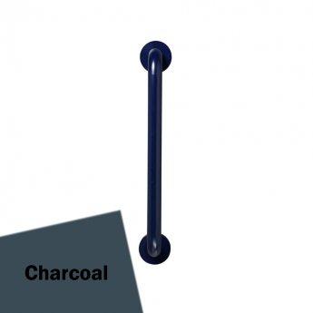 Armitage Shanks Contour 21 Straight Grab Rail 500mm Length - Charcoal