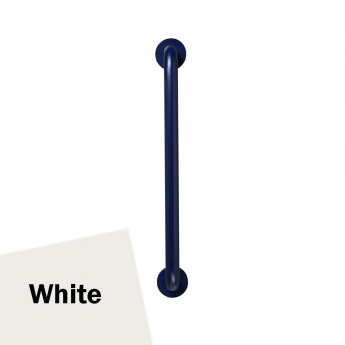 Armitage Shanks Contour 21 Straight Grab Rail 600mm Length - White